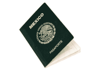 Cita del pasaporte mexicano