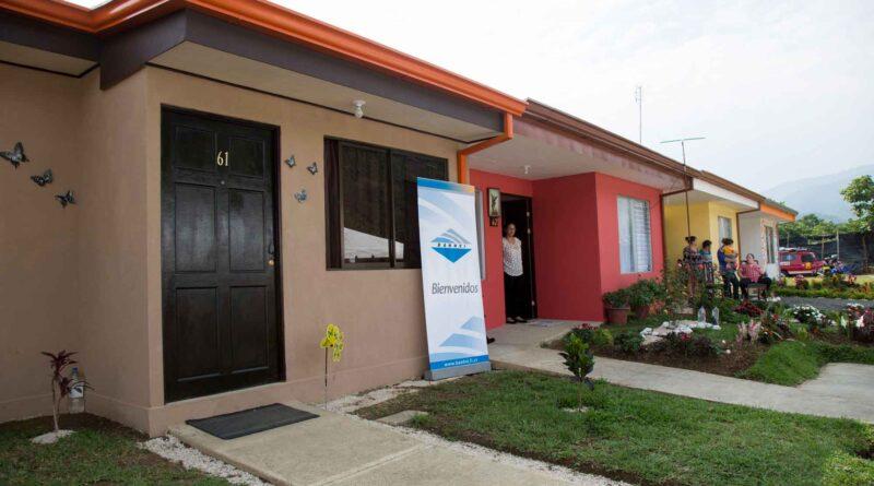 casa del Bono de Vivienda Familiar del BANHVI